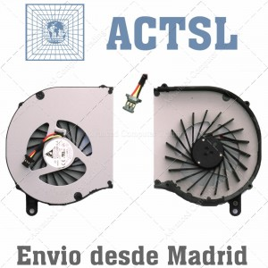 FAN VENTILADOR CPU para Portátil HP G62 606013-001 Series