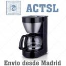 Cafetera 4-6 tazas negra