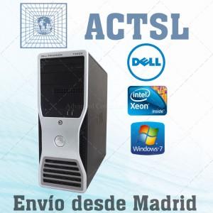 DELL T3500 XEON Q.Core W3550 3.0GHz / 12GB / 320GB / DVDRW / Nvidia FX580 / Windows 7 Pro COA