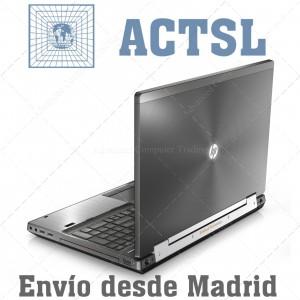 "HP Elite 8560w i5 2540M (2ªGn) / 8GB / 320GB / 15.6"" / DVDRW / Nvidia / WIFI / Teclado Internacional / Windows 7 Pro"