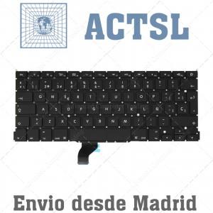 "Teclado Español para MACBOOK PRO Retina A1502  13"" Posterior 2013"
