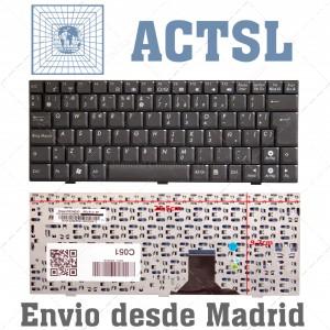 Teclado Español para ASUS EEEPC 1000 1000H 1000HA 1000HD 1000HE 1002 1003