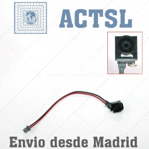 Conector DC power jack Para SONY VGN-S72PB/B 1-963-592-11