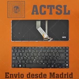 Teclado para portátil Acer Aspire M3-481 R7-471 V5-431P V5-471P