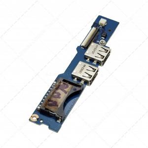 Conector USB/Power Button Board para Samsung Np530u3c 530U3b 535U3c 532U3c
