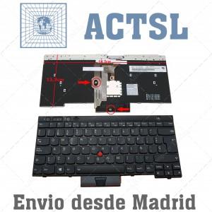 Teclado para portátil IBM Lenovo Thinkpad X230 T430 T430s W530 X230T T430I