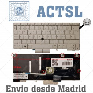 Teclado para portátil HP EliteBook 2760p Tablet PC