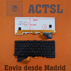 Teclado para portátil Dell Alienware 14 Retroiluminado
