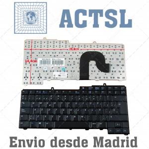 Teclado para portátil Dell Latitude D800 D600 D505 Precision M60 Vostro 1400