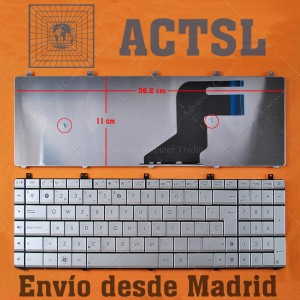 Teclado para portátil ASUS N75 N75S N75SF N75SL