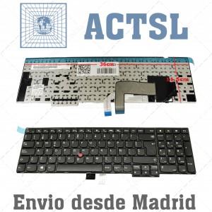 Teclado para portátil IBM Lenovo ThinkPad E531 E540 T540