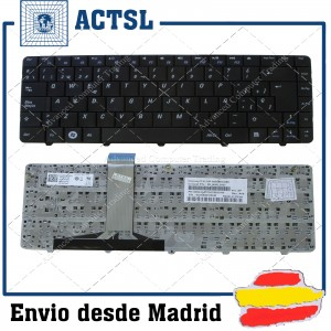Teclado para portátil Dell Inspiron Negro 11Z 1110 Series P03T