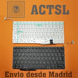 Teclado para portátil Apple Macbook Pro A1297 Black MB604LL/A MC024LL/A MC725LL/A