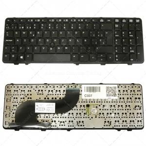 Teclado para portátil Hp Probook 650 G1 655 G1 Black Frame Black (With Point Stick,Win8)