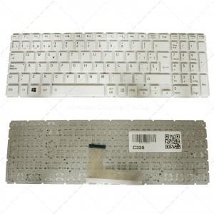 Teclado para portátil Toshiba L50-B S50-B L50d-B L50t-B L50dt-B L55(D)-B S55-B S55t-B S55d-B White (Without Frame)