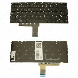 Teclado para portátil Lenovo Ideapad 110-14Ibr Black (Without Frame)