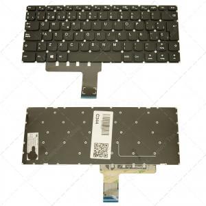 Teclado para portátil Lenovo Ideapad 310-14 Black (Without Frame)