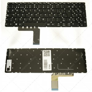 Teclado para portátil Lenovo Ideapad 110-15Acl 110-15Ast 110-15Ibr Black (Without Frame)