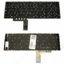 Teclado para portátil Lenovo Ideapad 310-15 Black (Without Frame)
