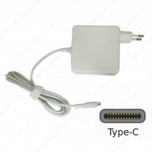Cargador Universal USB Tipo C 45W para Portátil, Smartphone, Tablet, Ultrabook... Color Negro