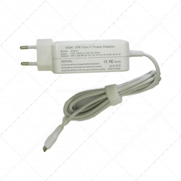 Cargador Universal USB Tipo C 65W para Portátil, Smartphone, Tablet ...