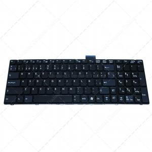 Teclado para portátil MSI Gx60 Ge60 Ge70 Black Frame Black Small Enter