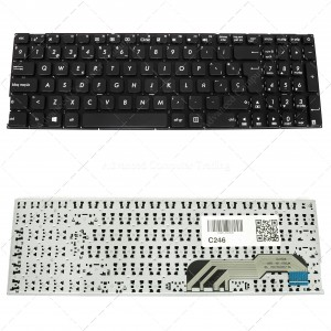 Spanish Laptop Keyboard for Asus VivoBook Max A541 X541 R541 F541