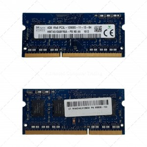 4GB 1RX8 PC3L 12800S SODIMM (HP P/N 698656-TC0)