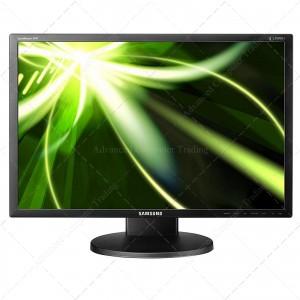 """24"""" SAMSUNG SYNCMASTER 2443 / FULL HD 1920X1080 LED –  -DVI-VGA PIE REGULABLE"""