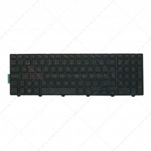 Teclado para portátil DELL Inspiron 15-7557 15-7559  0KPP2C Red Printing No backit
