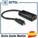 Adapter MHL male a High Speed HDMI female