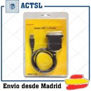 Adaptador Cable USB 1.1 a paralelo