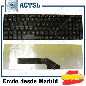 Teclado ASUS compatible con MP-07G76E0-5283 0KN0-EL1SP02