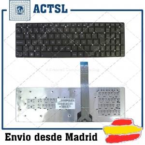 TECLADO ESPAÑOL ASUS F550 F550CA F550CC F550D F550DP F550E F550EA F550L F550LA F550LB F550LC F550LD F550LN F550V F550VB F550V
