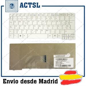 "Teclado Español ACER Aspire One Blanco 8.9"" A110 AOA150 A150 ZG5 9J.N9482.30S"