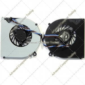 TOSHIBA Satellite C850 C855 C875 C870 L850 L870 (4 Pin, Version 2) Fan N/A