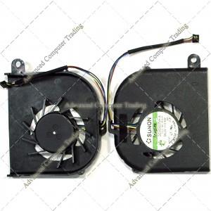 ACER Aspire 3810 3810T 3810Tg 3810Tz 3810Tzg Fan Gc053507vh-A 13.V1.B4108.F.Hf (Dc5v 0.6A) Mg45070v1-Q040-S9a