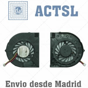 HP Cq50 G60-100 Series (for Amd,2 Screw Holes) Fan Ksb05105ha  Pvb065d05h