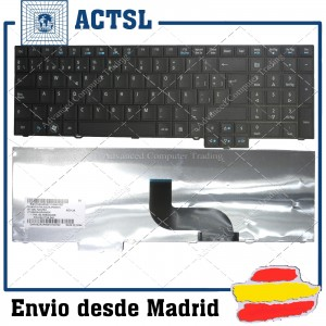 ACER Tm5760 Tm8573 Black Spanish Sp 9Z.N6ssq.00S Aezrjp00010 Kb,I170a.345