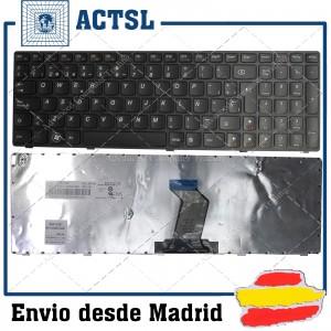 LENOVO V570 B570 Black Frame Black Spanish Sp 9Z.N5ssw.A0s 25-013325