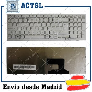 SONY Vpc-Eh White Frame White Spanish Sp 9Z.N5csq.30S Sb3sq