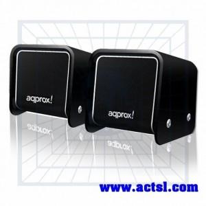 Mini Altavoces Estéreo 2.0 USB 5W APPSP05B