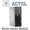 HP Z400 XEON QUAD CORE 3520 (4 Nucleos) 6GB / 250GB / DVDRW / Nvidia FX580 / Windows 7 PRO COA