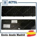 HP G72 Cq72 Black Spanish Sp N/A